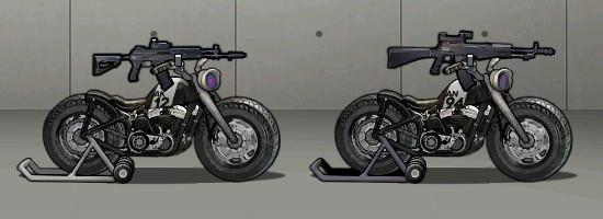 AK-12&AN-94のバイク