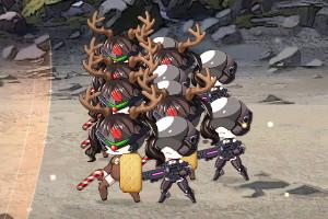 クリスマス仕様の鉄血2