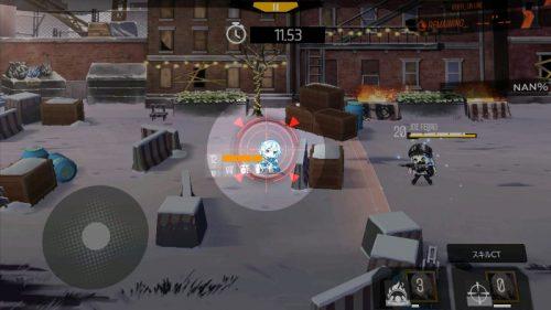 division-minigame 敵の照準