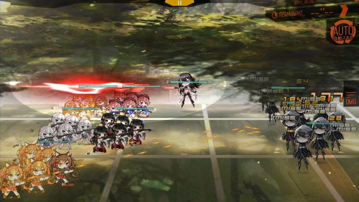 失格異性体レーザー攻撃1